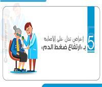 5 أعراض تدل على الإصابة بارتفاع ضغط الدم