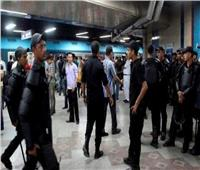 تطهير محطات المترو والقطارات وضبط 3 آلاف قضية متنوعة