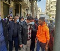 محافظة الإسكندرية تغلق ٨ منشآت و٤٤ غرامة لعدم ارتداء الكمامة