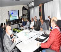 عطية: تحديث المخطط الإستراتيجى العام لمدينة أسوان لمواجهة العشوائيات