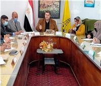 «تعليم سيناء» تناقش آلية تنفيذ قرارات الوزير
