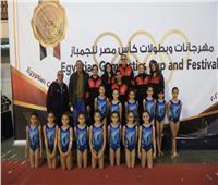 3 ميداليات ذهبية لجمباز الأهلي بكأس مصر
