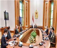 الرئيس السيسي يتابع الموقف التنفيذي للمشروع القومي لتنمية وسط وشمال سيناء