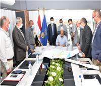 محافظ أسوان يعتمد المخططات التفصيلية لمدينتى «كوم أمبو ودراو»