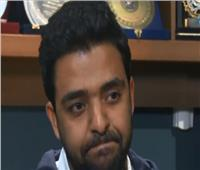 عمرو حسن يبكى على الهواء : «مش بقدر أقف على رجلي» ويطالب الدعاء بالشفاء