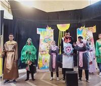 «ثقافة المنيا» تقدم العرض المسرحي «الفراعنه دوت كوم» بأبوقرقاص