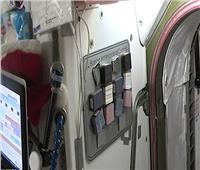 طاقم محطة الفضاء الدولية يختبر طلاءقاتل لفيروس كورونا