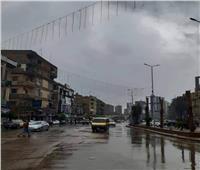 سقوط أمطار على كافة أنحاء مدن الغربية | فيديو