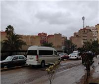 الأمطار والرياح تضرب محافظة الجيزة | صور