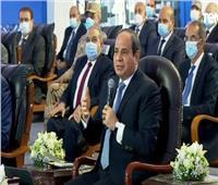 فيديو| الرئيس السيسي للمصريين: «إنجاب أكثر من طفلين مشكلة كبيرة»