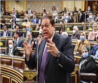 أبو العنين يطالب بمراجعة التشريعات التي صدرت الفترة الماضية 