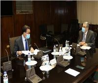 لقاء بين وزير الكهرباء وسفير فرنسا بالقاهرة لبحث وتدعيم مجالات التعاون