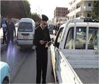 «مرور أسوان»: ضبط 590 مخالفة وإيجابية 4 سائقين لتحليل المخدرات