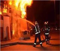 السيطرة على حريق هائل بأحد مطاعم المنصورة وإصابة شخصين بحروق