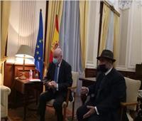 السفير الإسباني بالقاهرة: أتمنى أن ينتقل محمد صلاح إلى برشلونة أو«الريال»