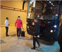 حافلة الأهلي تصل ملعب المباراة