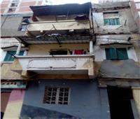 انهيار جزئي بـ3 عقارات في الإسكندرية بسبب الطقس السيئ