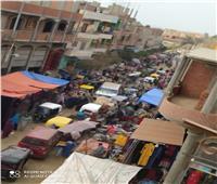 أهالى «شونى» يطالبون محافظ الغربية بنقل السوق خارج الكتلة السكنية