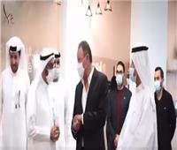 شاهد  احتفاء كبير بالخطيب في الإمارات: أسطورة عربية وإفريقية وعالمية