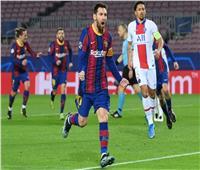 شوط أول ممتع.. ميسي يتقدم لبرشلونة ومبابي يتعادل لسان جيرمان| فيديو