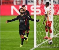 فيديو| صلاح يسجل وليفربول يهزم لايبزيج بثنائية في دوري الأبطال