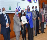 توزيع الجوائز المالية على الفائزين في مسابقة «شباب أسوان يبتكر»