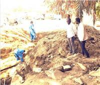 الانتهاء من أعمال إصلاح خط المياه المغذي لنصر النوبةبأسوان