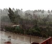 لليوم الثاني.. أمطار كثيفة وانخفاض درجات الحرارةفي الغربية| صور