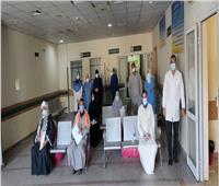 ارتفاع عدد المتعافين من كورونا بمستشفى قفط بقنا لـ108 حالات