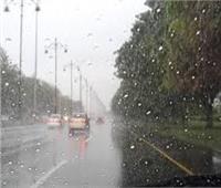 أمطارعلى محافظة القليوبية ورفع درجة الاستعداد القصوي