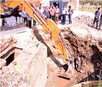 اليوم.. قطع المياه عن أسيوط لإصلاح وصيانة خط طرد 600 مم