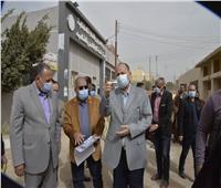 محافظ أسيوط يتفقد مستشفى الحميات ومركز الشباب بساحل سليم
