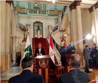 سامح شكري: مصر ليس لديها أي أطماع في ليبيا