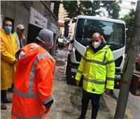 رفع حالة الطوارئ بشركات المياه والصرف الصحي للتعامل مع الأمطار| صور