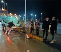 استمرار حالة الطوارىء لمواجهة الطقس السيءبشمال سيناء