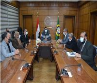 محافظ الدقهلية يلتقي رئيس الإدارة المركزية للمناطق الاستثمارية
