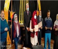 تكريم الفائزين بالمسابقة الأدبية بأبوقرقاص