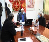 محافظ بورسعيد يترأس غرفة عمليات متابعة تطورات الطقس السيئ