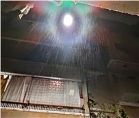 أمطار خفيفة وانخفاض في درجات الحرارة بالجيزة | صور