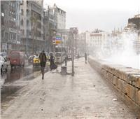 أمطار وعواصف بالقاهرة والمحافظات.. وثلوج على سانت كاترين