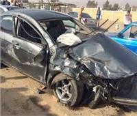 إصابة شخص في حادث تصادم أعلى الدائري اتجاه المرج
