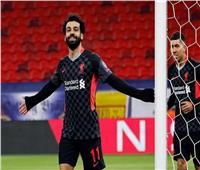 محمد صلاح يحتفي بفوز ليفربول على لايبزيج بطريقته الخاصة.. صور
