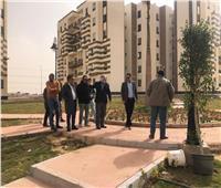 """الانتهاء من تنفيذ ٢٤٩٦ شقة لـ""""سكان المناطق العشوائية"""" بالجيزة"""