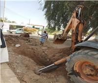 بعد إنقطاعها ثلاثة أيام ..إعادة ضخ المياه لقرية «الريقة» بأسوان