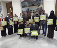 تكريم الموظفين المتميزين بمحافظة شمال سيناء