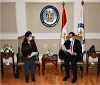 «الملا» يجري مباحثات ثنائية مع وزيرة الطاقة الأردنية في القاهرة