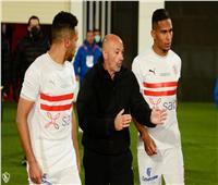 باتشيكو يطالب لاعبي الزمالك بغلق ملف الدوري استعدادا لتونجيث