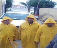 كهرباء القناة: فرق طوارئ بـ«الملابس الواقية» تواجه تداعيات الطقس السيئ
