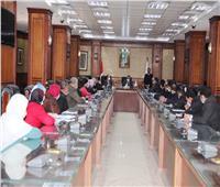محافظ سوهاج يترأس اجتماع متابعة المراكز التكنولوجية لخدمة المواطنين