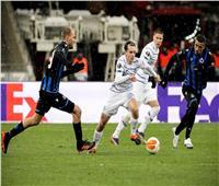 دينامو كييف يتعادل مع كلوب بروج في الدوري الأوروبي